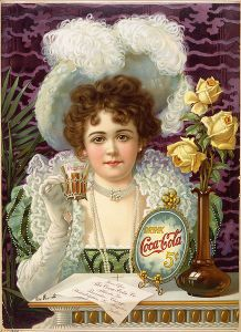 An 1890s advertising poster